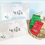 茶葉禮盒喜慶紅袋